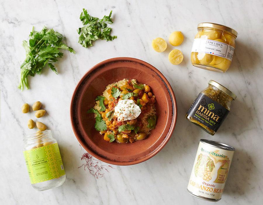 Butternut & Chickpea Moroccan Stew