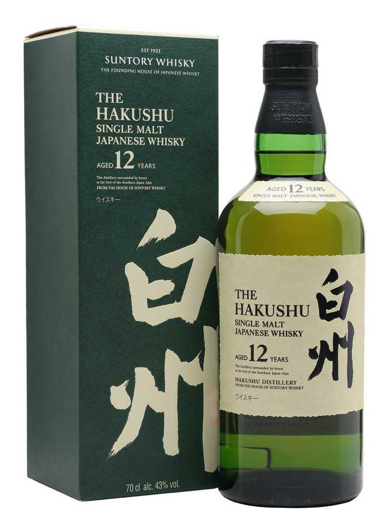 Suntory Hakashu 12Yr