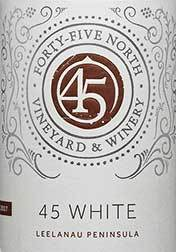 45 North White