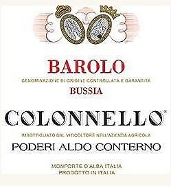 Aldo Conterno Colonnello Barolo 2016