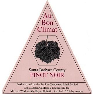 Au Bon Climat Pinot Noir 2018