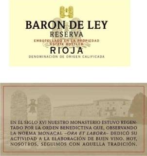 Baron De Ley Rioja Reserva 2012