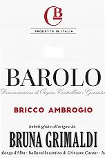 Bruna Grimaldi Barolo Bricco Ambrogio