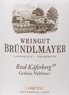 Brundlemayer Ried Kaferberg Gruner Veltliner