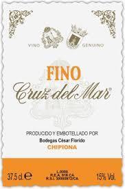 Cesar Florido Cruz Del Mar Fino Sherry Nv