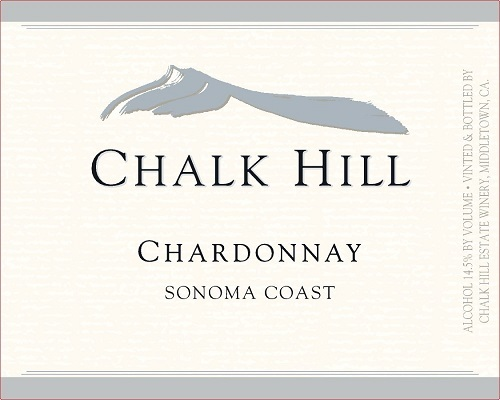Chalk Hill Sonoma Coast Chardonnay 2019