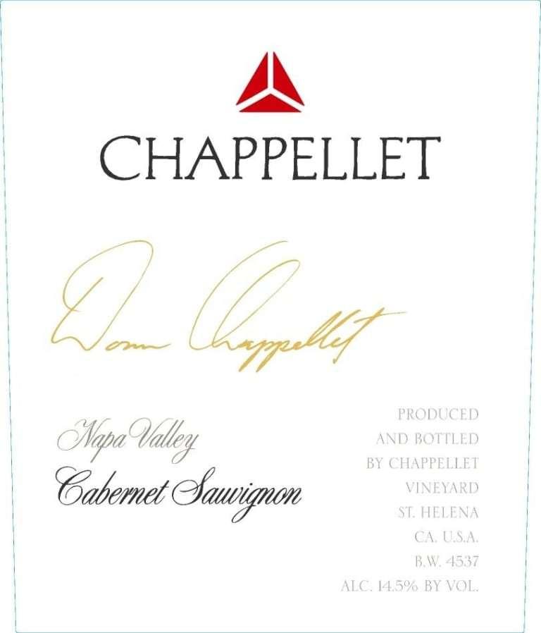 Chappellet Signature Cab