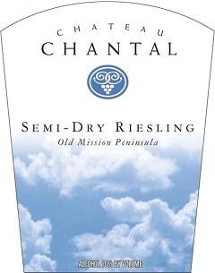 Chateau Chantal Semi Dry Riesling 2017