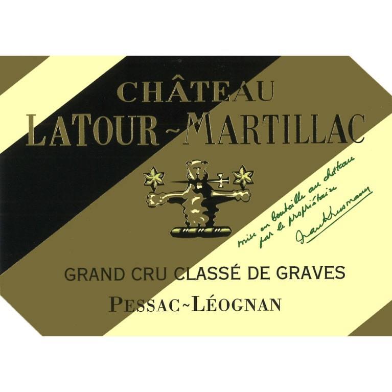 Chateau Latour Martillac Blanc Graves Blanc