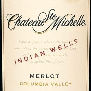 Chateau St Michelle Indian Wells Merlot 2015