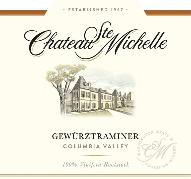Chateau St  Michelle Gewurztraminer 2018