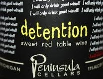 Detention Red Wine