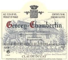 Domaine Claude Dugat Gevrey Chambertin 2017