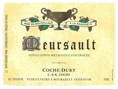 Domaine Coche Dury Meursault 2017