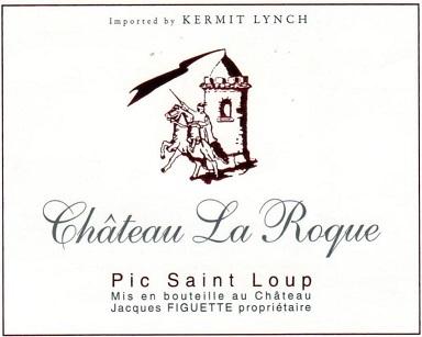 Domaine La Roque Pic Saint Loup 2018