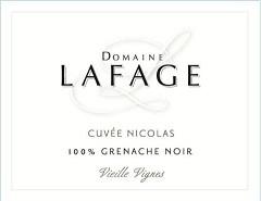 Domaine Lafage Cuvee Nicolas 2017