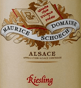 Domaine Maurice Schoech Riesling 2013