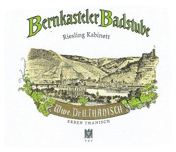 Dr  Thanisch Bernkasteler Badstube Kabinett Riesling 2018