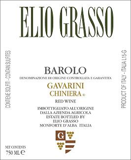 Elio Grasso Gavarini Chiniera Barolo 2016