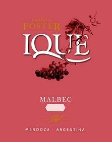 Enrique Foster Ique Malbec 2018