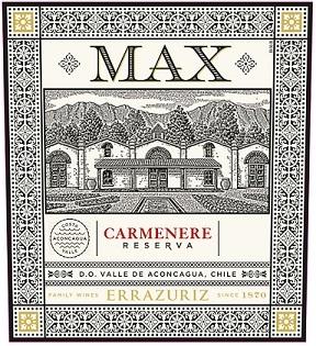 Errazuriz Max Carmenere Reserva