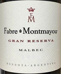 Fabre Montmayou Gran Reserva Malbec 2017