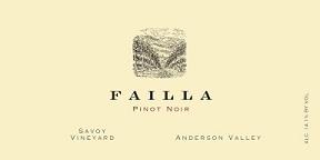 Failla Savoy Vineyard Pinot Noir