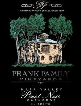 Frank Family Carneros Pinot Noir 2017