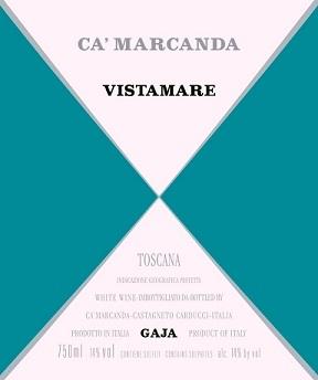 Gaja Ca Marcanda Vistamare 2017