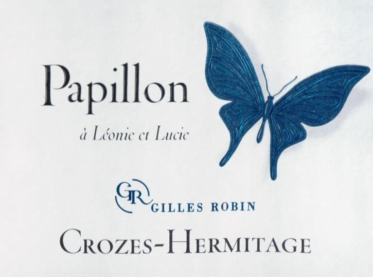 Gilles Robin Cuvee Papillon Crozes Hermitage 2018
