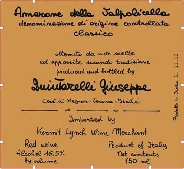 Giuseppe Quintarelli Amarone Della Valpolicella Classico 2012