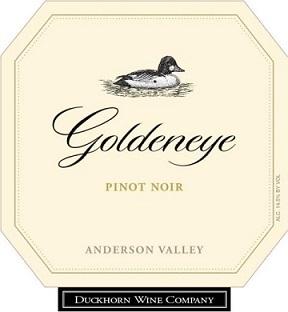Goldeneye Anderson Valley Pinot Noir 2016