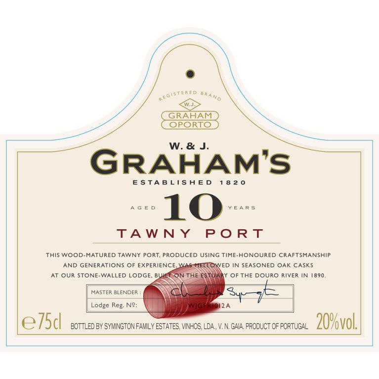 Grahams 10 Year Tawny Nv