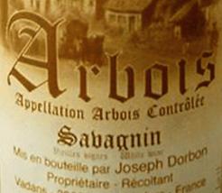 Joseph Dorbon Arbois Savagnin Jura White 2010