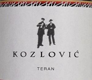 Kozlovic Teran Red Wine