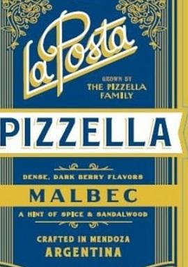 La Posta Pizella Malbec