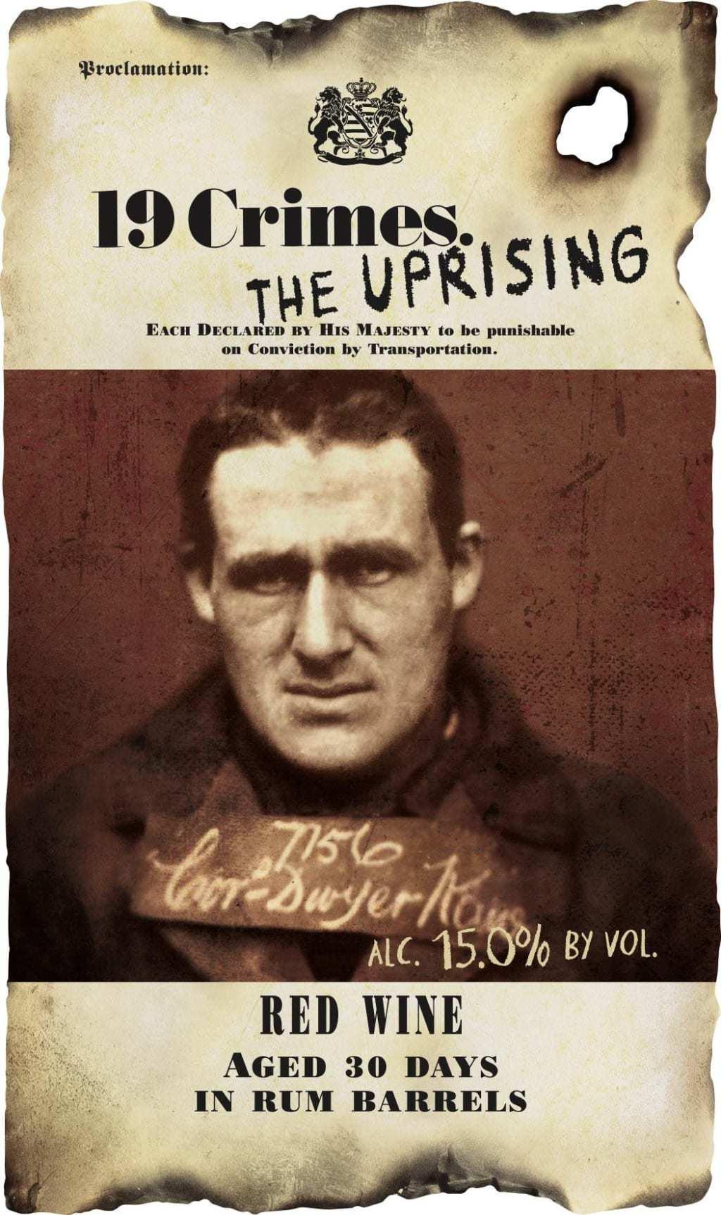 19 Crimes Uprising Red