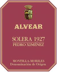 Alvear Solera 1927 Pedro Ximenez