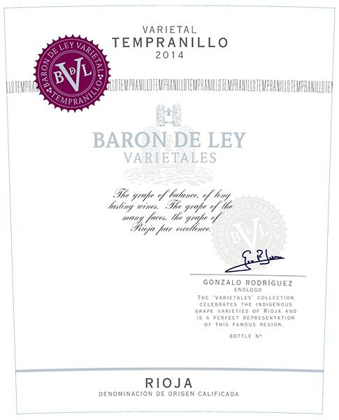 Baron De Ley Varietal Temranillo