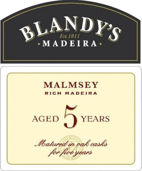 Blandys 5 Year Old Malmsey Madeira