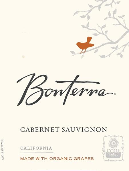 Bonterra Organic Biodynamic Mendocino Cabernet