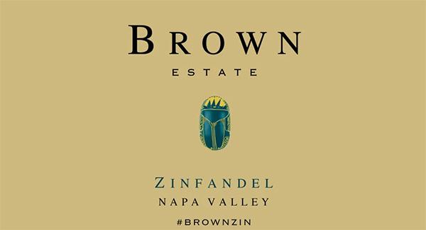 Brown Estate Napa Valley Zinfandel
