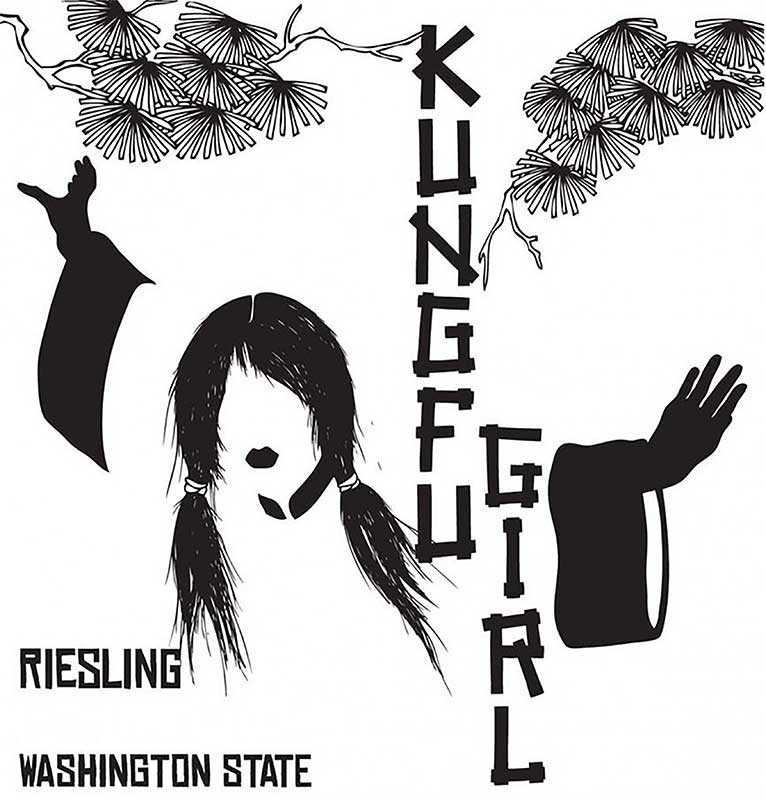 Charles Smith Kung Fu Girl Riesling