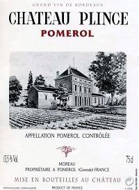 Chateau Plince Pomerol