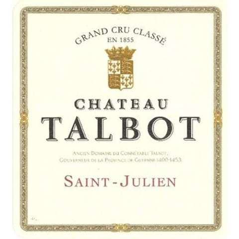 Chateau Talbot St Julien