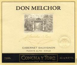 Conchay Toro2001 Don Melchor Reserve Cabernet Sauvignon