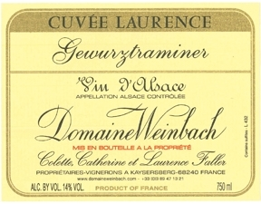 Dom Weinbach Cuvee Laure