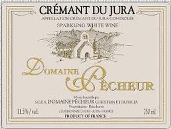 Domaine Pecheur Cremant Du Jura Nv