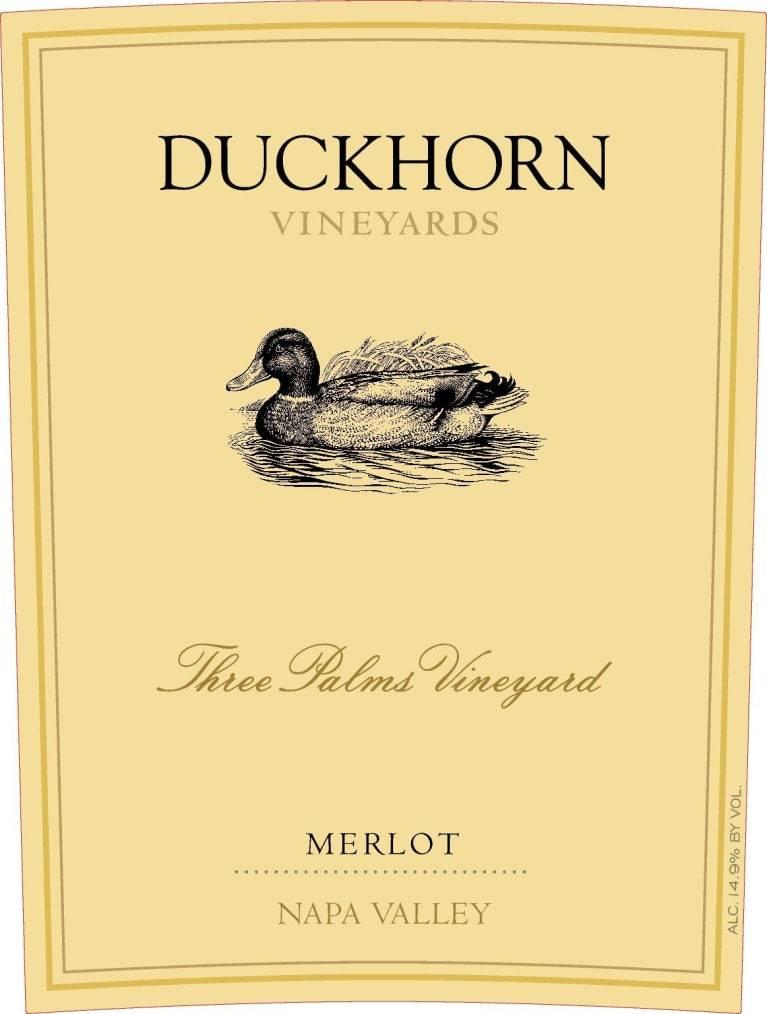 Duckhorn Three Palms Merlot