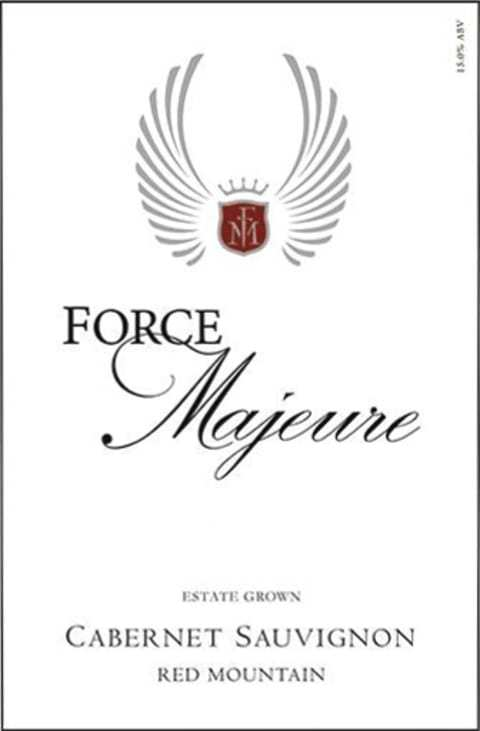 Force Majeur Cabernet